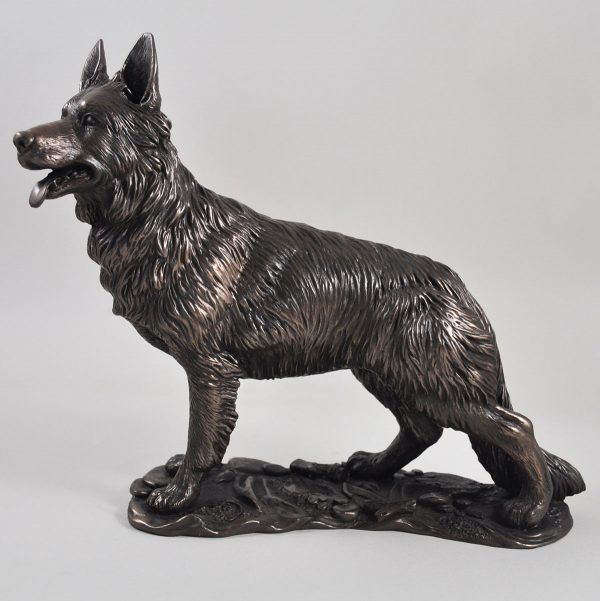 German Shepherd bronze