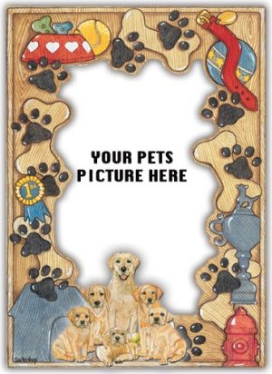 Labrador Retriever Photo Frame