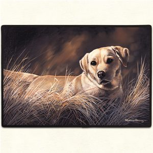 Yellow Labrador Retriever Doormat