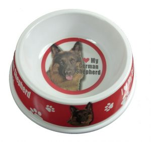 German Shepherd Feeding Bowl-0