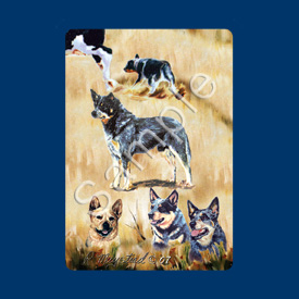 Australian Cattle Dog - Deck of Playing Cards-0