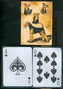 Airedale - Deck of Playing Cards-0
