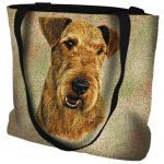 Airedale Terrier Tote Bag -0