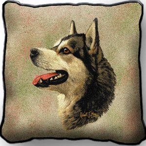 Alaskan Malamute - Tapestry Cushion Cover-0