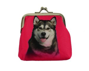 Alaskan Malamute Coin Purse-0
