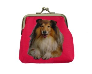 Rough Collie Coin Purse-0