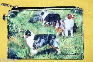 Australian Shepherd - Zippered Pouch-0