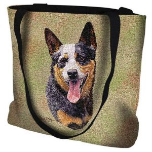 Australian Cattle Dog Tote Bag -0