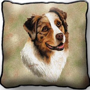 Australian Shepherd - Tapestry Cushion Cover-0