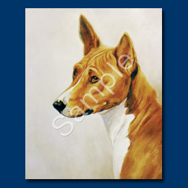 Basenji- 6 pack Note Cards-0