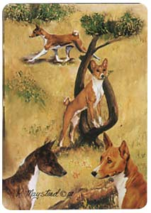 Basenji - Deck of Playing Cards-0