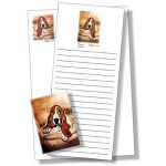 Basset Hound - List Pad & Magnet Combo-0