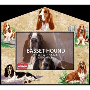 Basset Hound Photo Frame-0