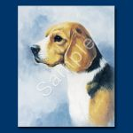 Beagle- 6 pack Note Cards-0
