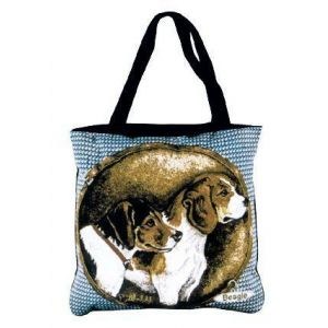 Beagle Tapestry Tote bag-0
