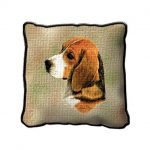 Beagle - Tapestry Cushion Cover-0