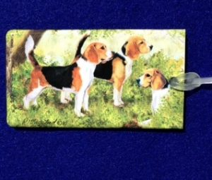 Beagle Luggage Bag Tag-0