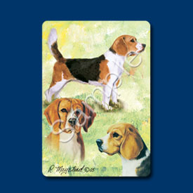 Beagle - Deck of Playing Cards-0
