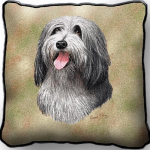 Bearded Collie - Tapestry Cushion Cover-0