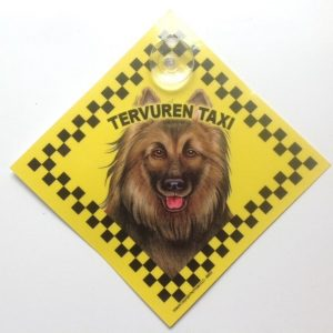 Belgium Tervuren (taxi) Suction Sign-0