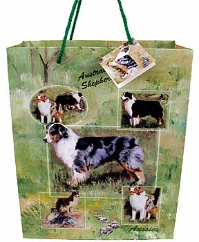 Australian Shepherd - Large Gift Bag-0