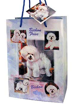 Bichon - Large Gift Bag-0