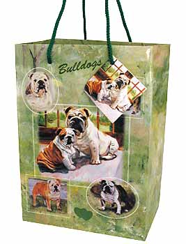 Bulldog - Small Gift Bag-0