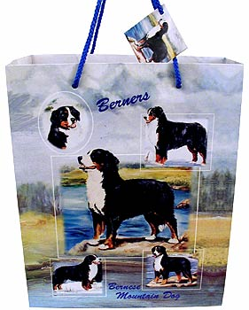Bernese Mountain Dog - Large Gift Bag-0