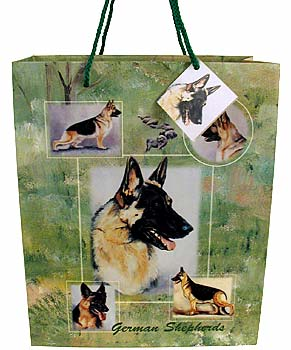 German Shepherd - Large Gift Bag-0