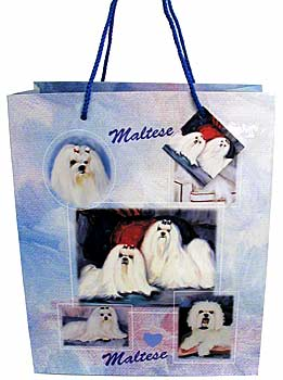 Maltese - Large Gift Bag-0