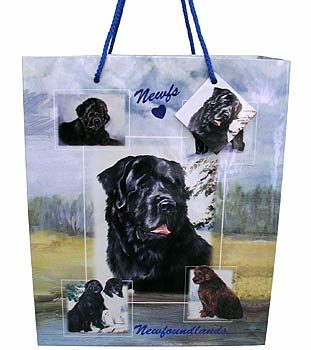 Newfoundlands - Large Gift Bag-0