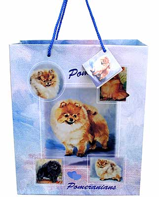 Pomeranians - Large Gift Bag-0