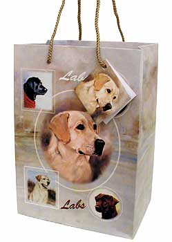 Labradors - Large Gift Bag-0