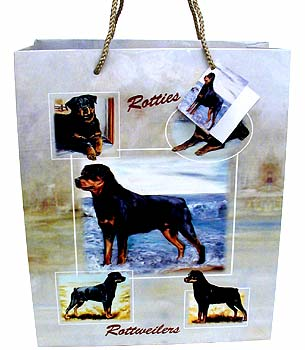 Rotties - Large Gift Bag-0