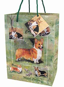 Corgis - Large Gift Bag-0