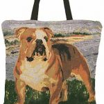 Bulldog Tapestry Totebag-0
