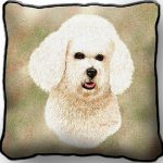 Bichon Frise - Tapestry Cushion Cover-0