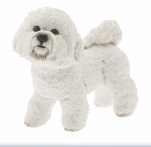 Bichon Frise Dog Figurine-0