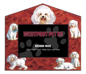 Bichon Frise Photo Frame-0