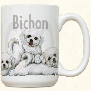 Bichon Frise Puppies Mug-0
