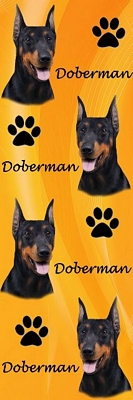 3D Doberman Bookmark-0