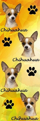 3D Chihuahua Bookmark-0