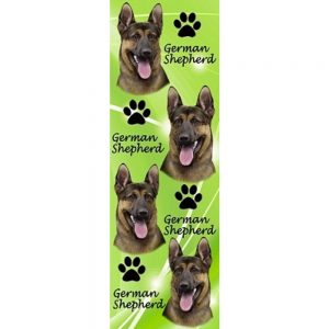 German Shepherd 3D Bookmark-0