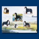 Bernese Mountain Dog - Gift Wrap paper-0