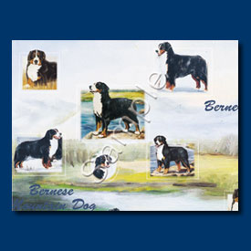 Bernese Mountain Dog Dog Gift Wrapping Paper