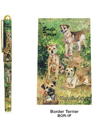 Border Terrier – Deluxe Ink Pen-0