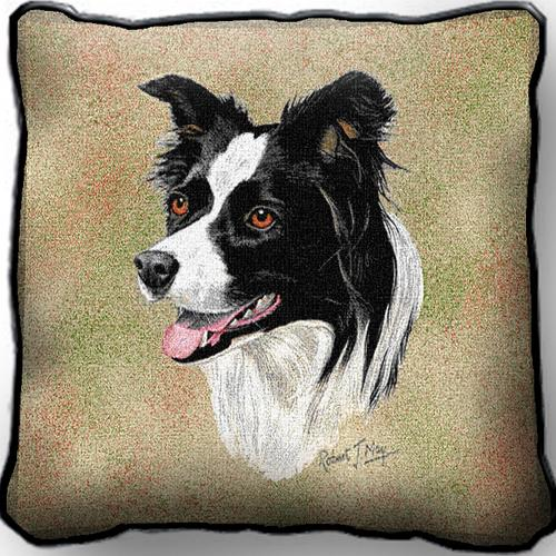 Border Collie – Tapestry Cushion Cover-0