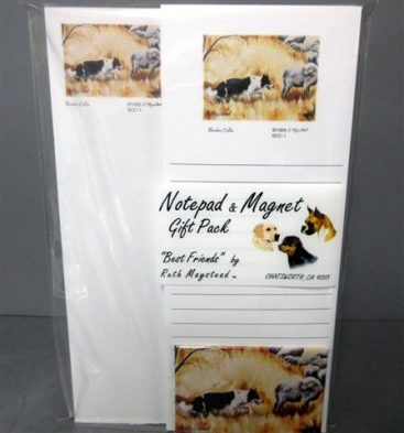 Border Collie - List Pad & Magnet Combo-0