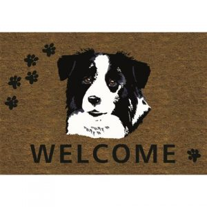 Border Collie Door Mat-0