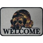 Border Terrier Coir Door Mat-0